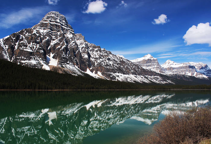 Mt. Chephren, Banff-Nationalpark, Kanada